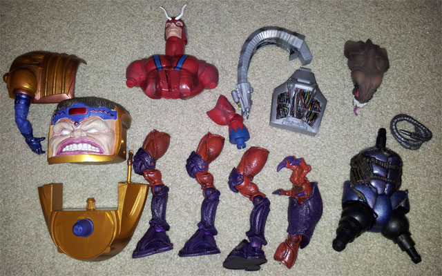 Marvel BAF pieces FREE to good home! MarvelBAF